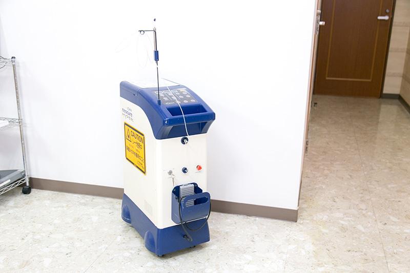 レーザー治療器を用いた歯周病治療
